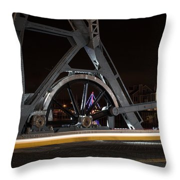 Mystic Drawbridge Linkage Throw Pillow