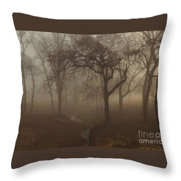 Mystic Forest 004 Throw Pillow