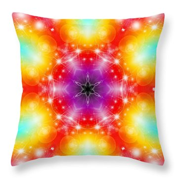 Mystic Karma Throw Pillow