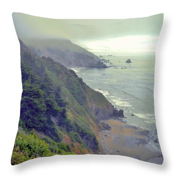 Throw Pillow featuring the photograph Mystic by Marilyn Diaz