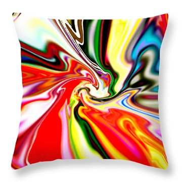 Mystic Orient Throw Pillow