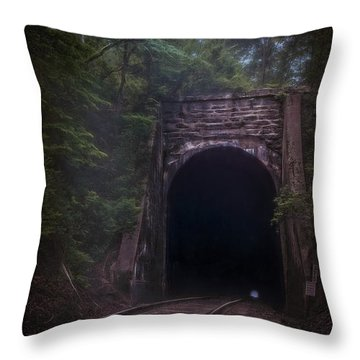 Mystic Rail Throw Pillow