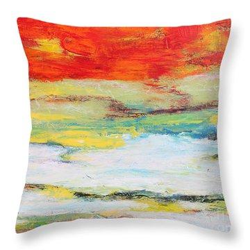 Mystic River-jp2476 Throw Pillow
