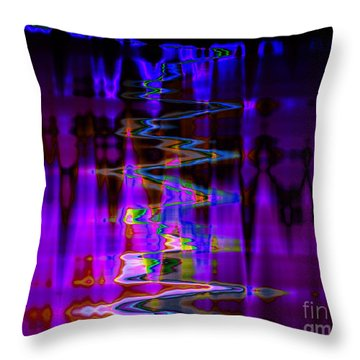 Mystic River Throw Pillow