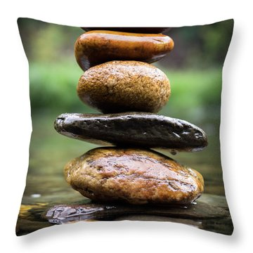 Mystic River S2 Xii Throw Pillow