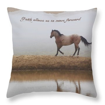 Mystical Beauty Inspirational Throw Pillow