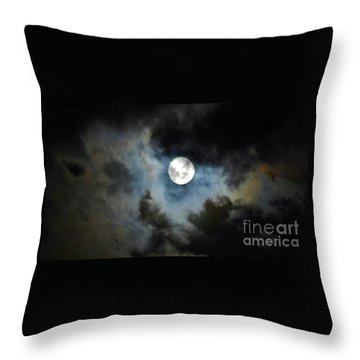 Mystical Clouds Throw Pillow