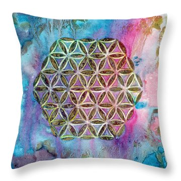 Mystical Morning  Throw Pillow