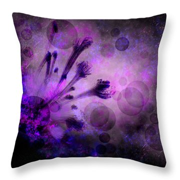 Mystical Nature Throw Pillow