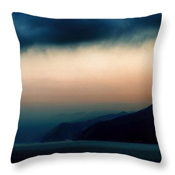 Mystical Sunrise Throw Pillow