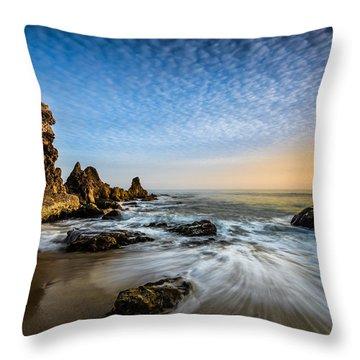 Mystical Sunset 3 Throw Pillow