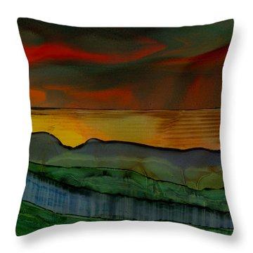Mystique Of Nature Throw Pillow