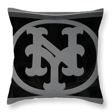 N Y Throw Pillow