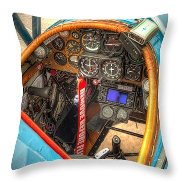 N1g Interior Throw Pillow