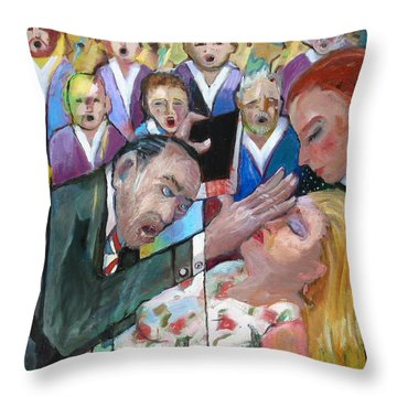 Na019 Throw Pillow
