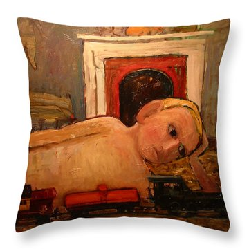 Na027 Throw Pillow