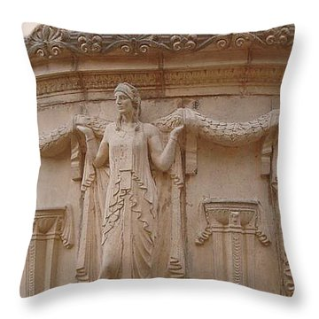 Naga  Throw Pillow