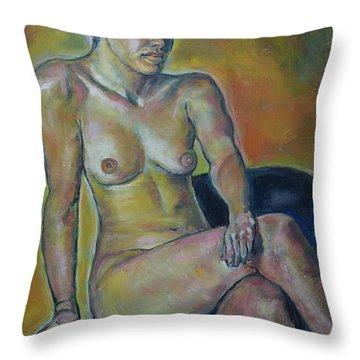 Naked Suri 1 Throw Pillow