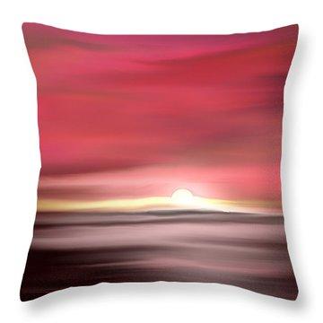 Namaste Throw Pillow by Yul Olaivar