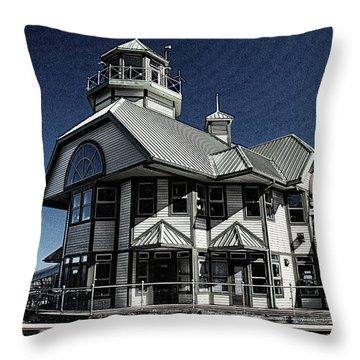 Nanaimo Bistro Throw Pillow