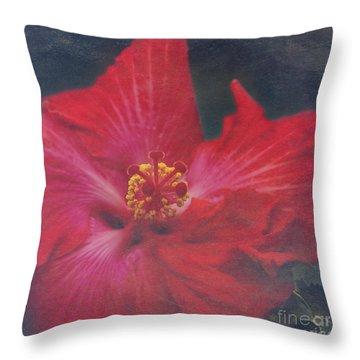 Nanakuli Floral Celebration Throw Pillow by Sharon Mau