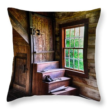 Nancy Hanks Lincolns Home Throw Pillow