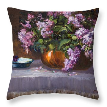 Nancy's Reverie Throw Pillow
