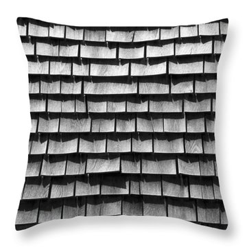 Nantucket Shingles Throw Pillow