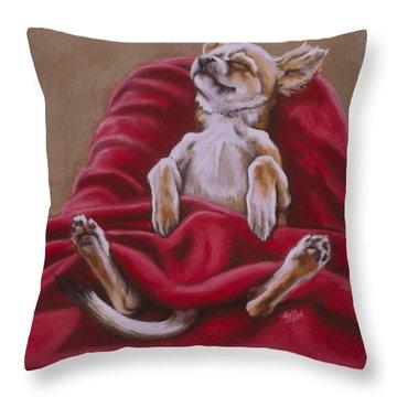 Nap Hard Throw Pillow