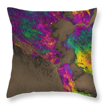 Throw Pillow featuring the photograph Napa Valley Earthquake, 2014 by Science Source