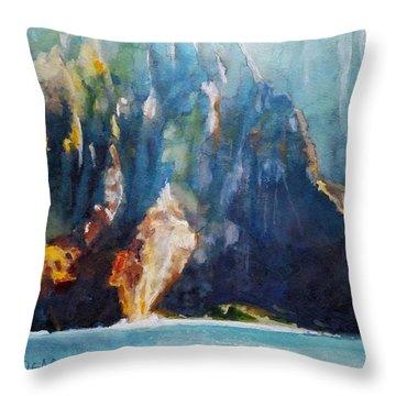 Napali No. 4 Throw Pillow