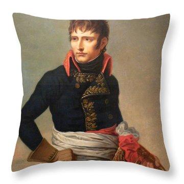 Napoleon Bonaparte As First Consul Throw Pillow