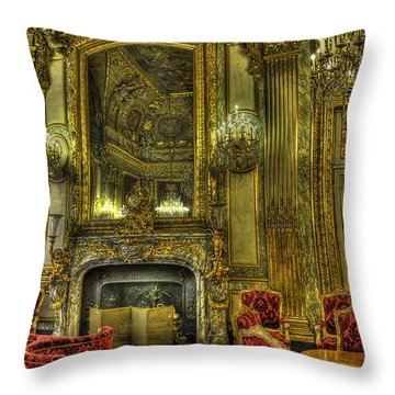 Napoleon IIi Room Throw Pillow