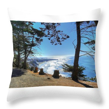 Throw Pillow featuring the photograph Narnia by Kevin Ashley