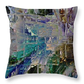 Narrative Splash Throw Pillow by Richard Thomas