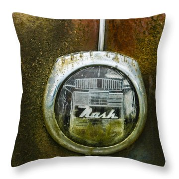 Nash Throw Pillow by Jean Noren