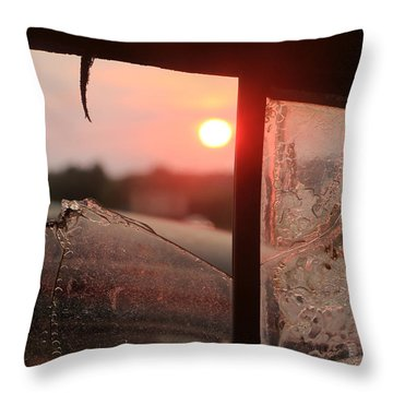 Nash Lafayette Sunset Throw Pillow by Christopher McKenzie