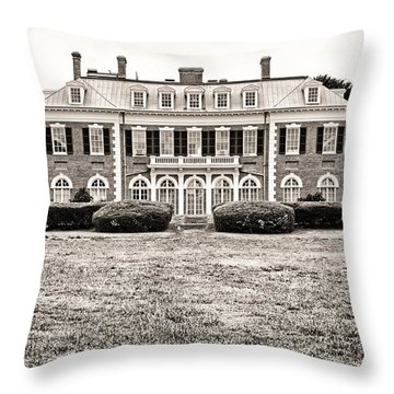 Nassau County Museum Of Art Throw Pillow