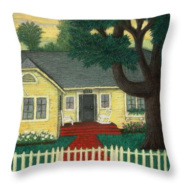 Nate's Place Throw Pillow