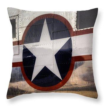 National Aircraft Insignia Throw Pillow