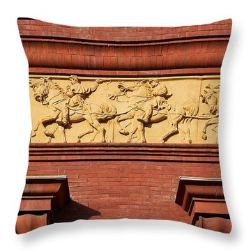 National Building Museum #3 Throw Pillow