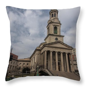 National City Christian Church Throw Pillow
