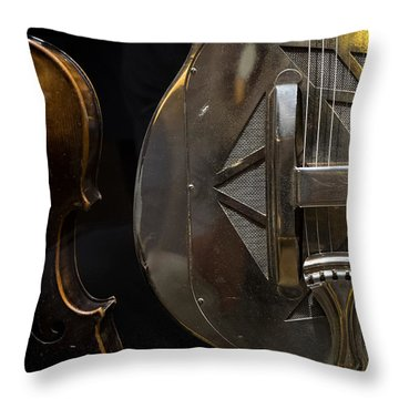 National Guitar Throw Pillow