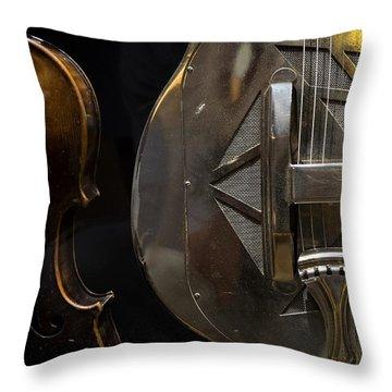 National Guitar Throw Pillow