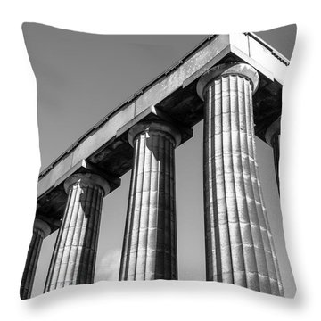 Throw Pillow featuring the photograph National Monument by Ross G Strachan