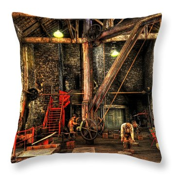 National Slate Museum Throw Pillow by Svetlana Sewell
