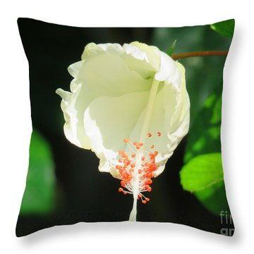 Native Flower Of Palawan Throw Pillow