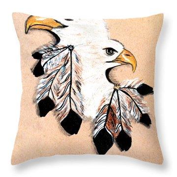 Native Freedom Throw Pillow