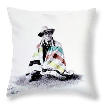 Native West Coast Indian Throw Pillow