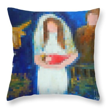 Nativity 1  Throw Pillow